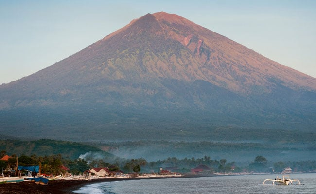 Tremors Trigger Fears Of Volcanic Eruption In Indonesia's Bali