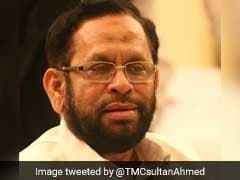 Trinamool Lawmaker Sultan Ahmed Dies