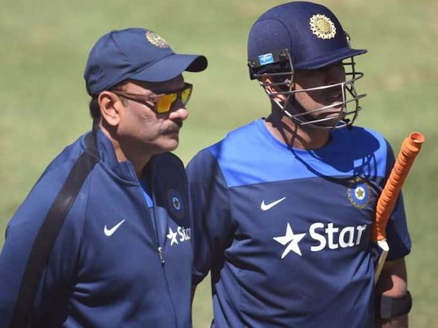 Ravi Shastri Slams MS Dhonis Critics, Says Look Back At Your Own Career First