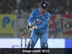 Mahendra Singh Dhoni Hits Century Of Stumpings