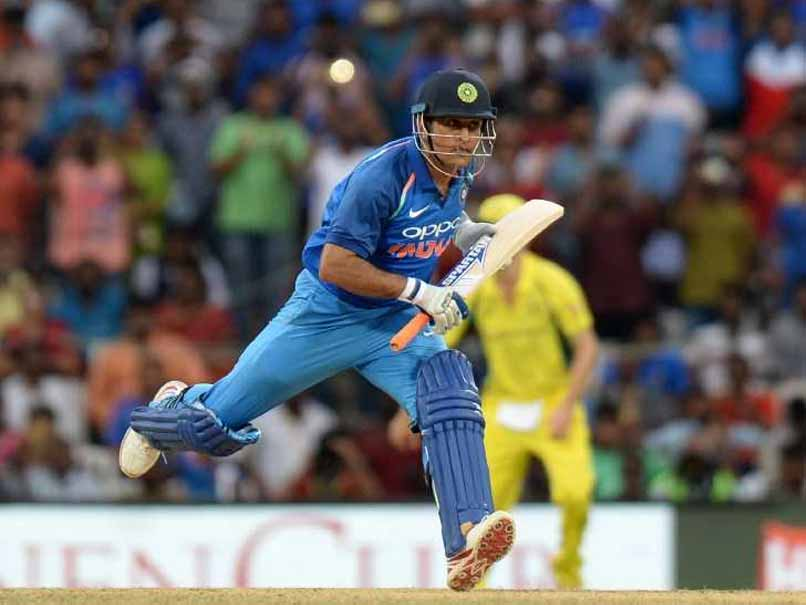 Watch: MS Dhoni Gives Kedar Jadhav The Death Stare After Run Out Scare