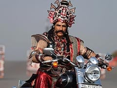 No, A 'Mukut' Is Not A Helmet. This Harley-Riding Ravana Just Got Challaned