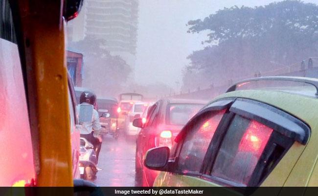 Heavy Rains Lash Mumbai, Civic Officials On Alert