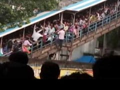 Video: The Stampede On Elphinstone Bridge In Mumbai, 22 dead