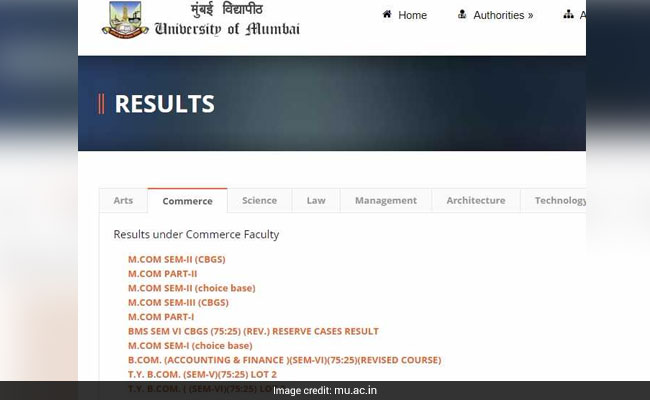 Mumbai University MCom Part 2, Semester 2 Results Out, BCom