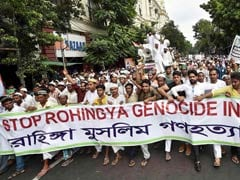 Huge Rally In Kolkata By Muslim Outfits Demands Justice For Rohingyas