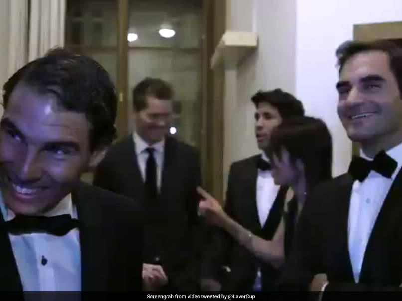 Laver Cup: Roger Federer Introduces Rafael Nadal, Leaves The Spaniard Grinning Like A Kid