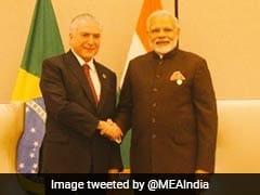 PM Modi, Brazilian President Discuss Partnership Based On Common Global Vision