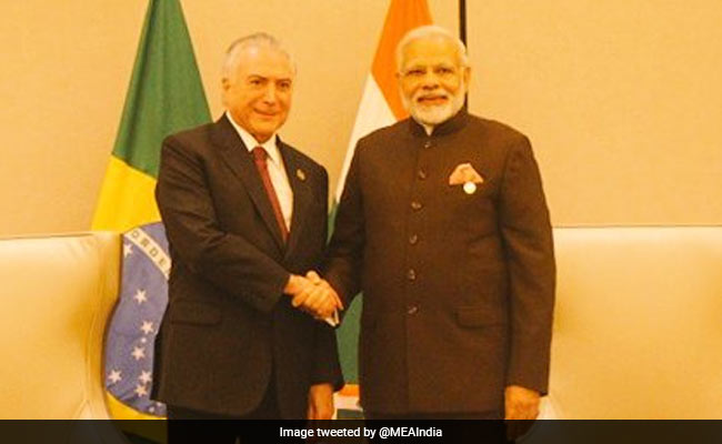 PM Modi, Brazilian President Discuss Partnership Based On Common Global Vision