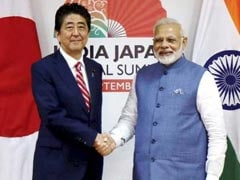PM Narendra Modi Congratulates Japan's Shinzo Abe On Re-Election