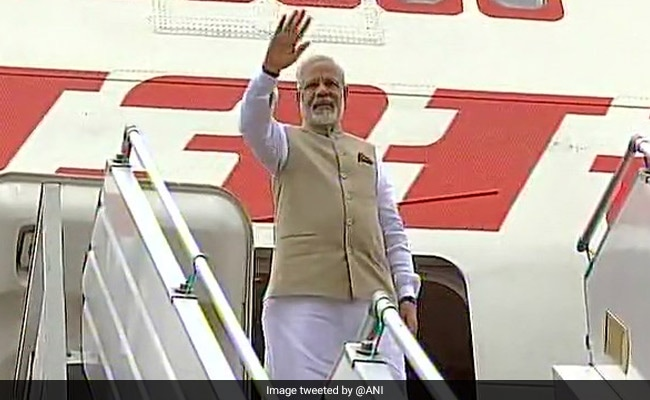Prime Minister Narendra Modi Leaves For Home After Myanmar Visit