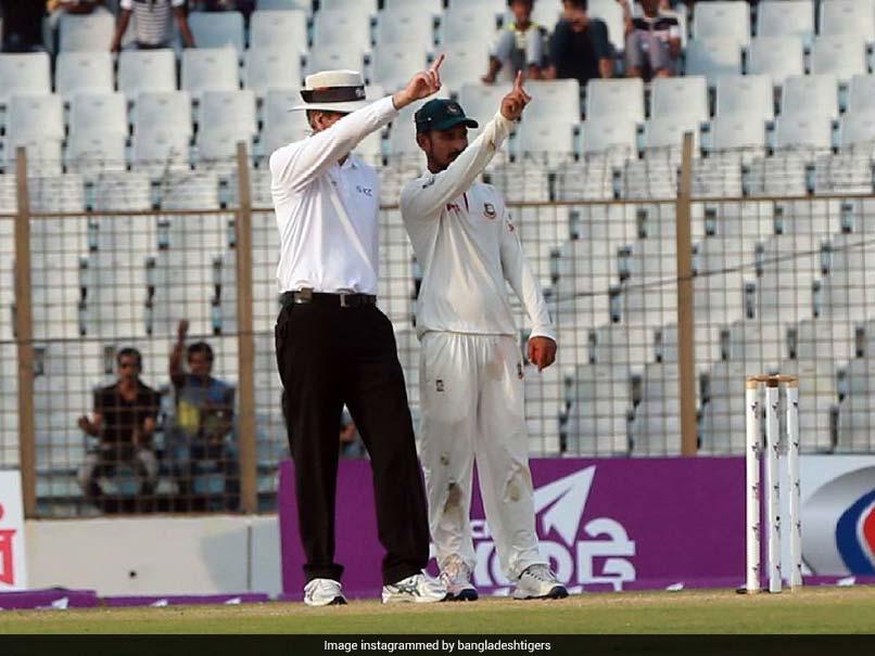 Watch: Bangladesh Player Turns Umpire In Unique Send-Off Vs Australia