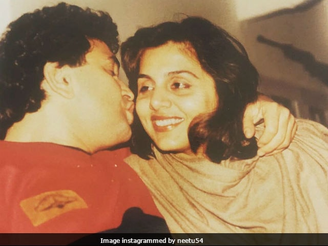 Neetu Kapoor Shares A Glimpse Of Good Old Days With Rishi Kapoor