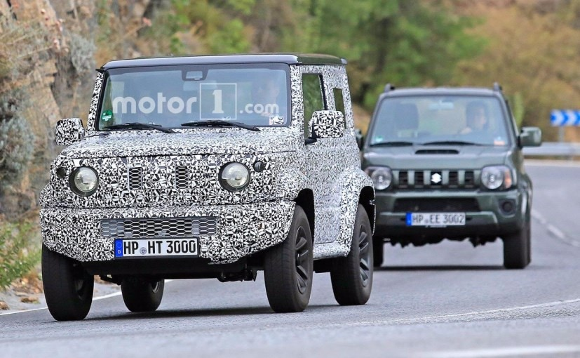 Next Gen Suzuki Jimny Spotted Testing Alongside Current Gen Jimny