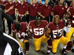 NFL Players Kneel During Anthem In Defiance After Trump Criticism