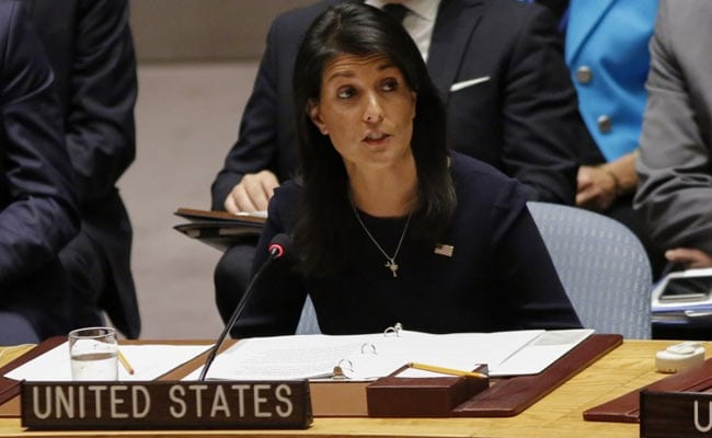 Image result for US will not tolerate Pak providing safe havens to terrorists: Haley