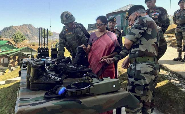 Defence Minister Nirmala Sitharaman Reviews Progress Of Army Reform