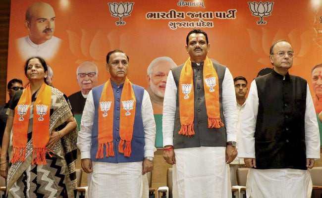 BJP Trains Gujarat Leaders On Countering Congress' Meme Attack On Social Media