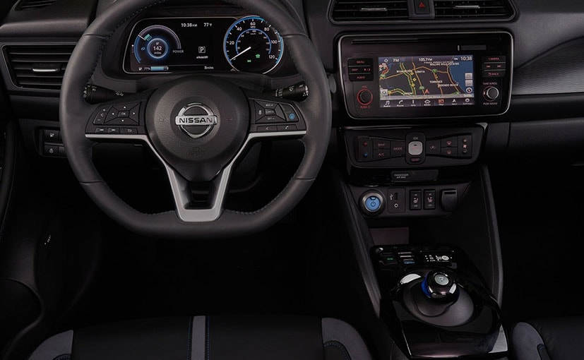 nissan leaf ev dashboard