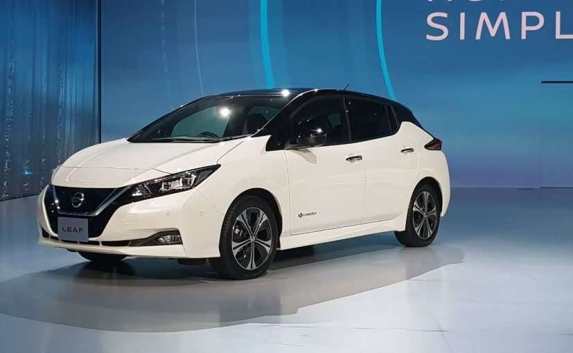Nissan Leaf Electric Car Unveiled Gets Autonomous Tech And A Range Of 400 Km