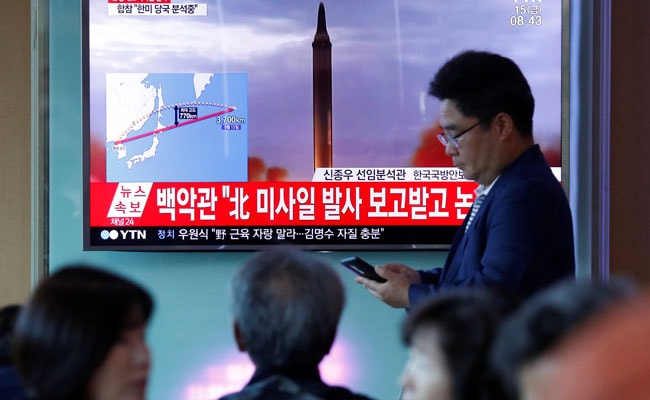 United States mulls shooting down North Korean missiles that don't pose direct threat