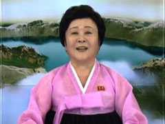 North Korea's 'Pink Lady' Broadcaster Again Serves Up Earth-Shaking News