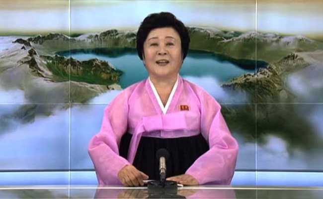 North Korea's Favourite Newsreader, 70, Announces Hydrogen Bomb Success