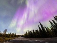 Spectacular Northern Light Display Illuminates Finnish Sky