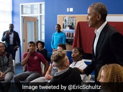Video: Barack Obama Surprised A Bunch Of Students. Here's What Happened