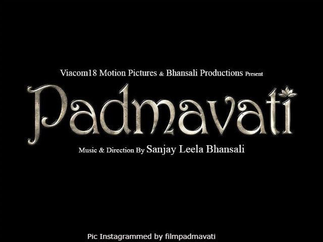 First look poster of 'Padmavati' released!