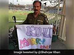 यह क्या...पाकिस्तान के पुलिसवाले का विराट कोहली से अजीबोगरीब आग्रह, 'मुझसे शादी करो'