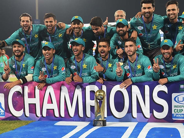 Pakistan Welcome Return Of International Cricket With Series Win vs World XI