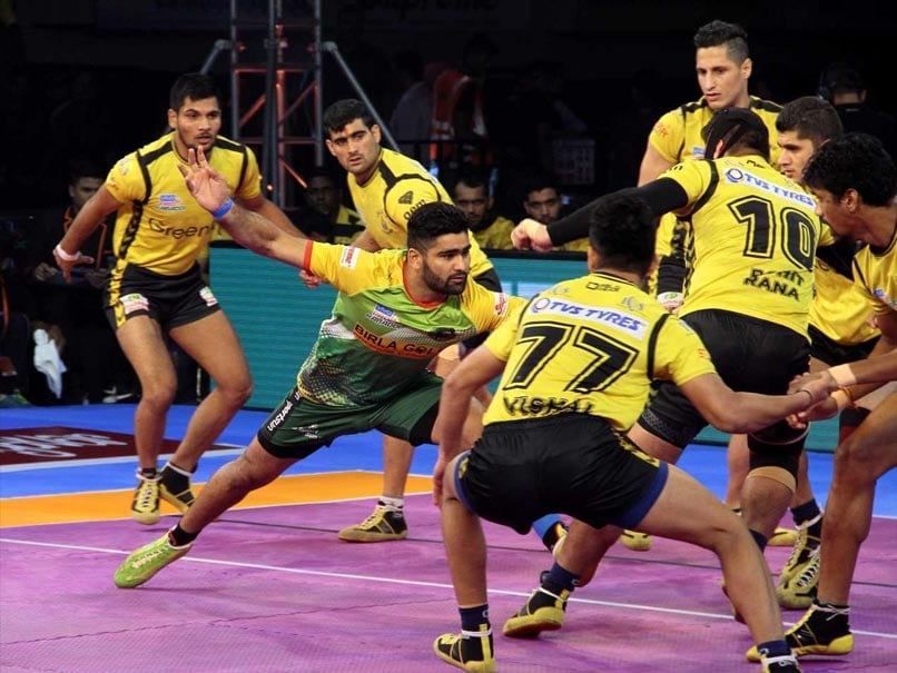 Pro Kabaddi League: Patna Pirates Hammer Telugu Titans 46-30