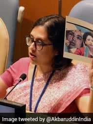 India Responds To Pak's Fake Photo At UN With Image of Fallen Braveheart