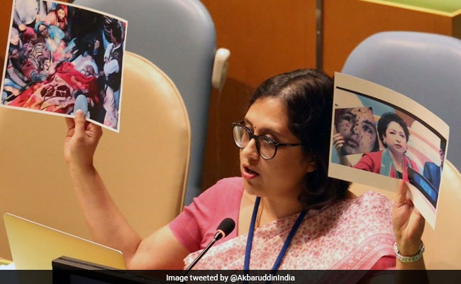 India Counters Pak's Fake Photo With One Of Army Man Killed By Terrorists