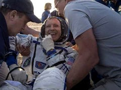 Record-Breaking Astronaut, A Woman, Comes Back To Earth