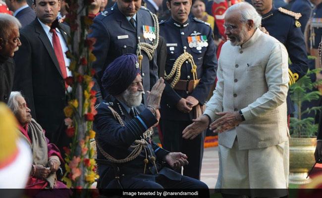 Prime Minister Modi, President Ram Nath Kovind Mourn Arjan Singh's Death, Hail His Role In 1965 War