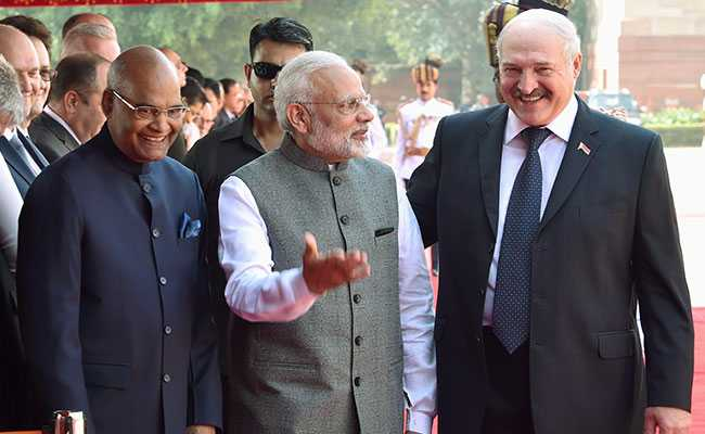 PM Modi Holds Talks With Belarus President AG Lukashenko