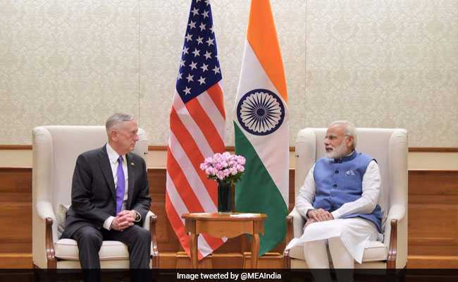 US Defence Chief Jim Mattis Meets PM Modi, Discusses Enhanced Indo-US Cooperation