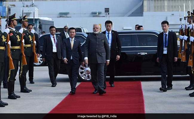 PM Narendra Modi Leaves For Myanmar For First Bilateral Visit