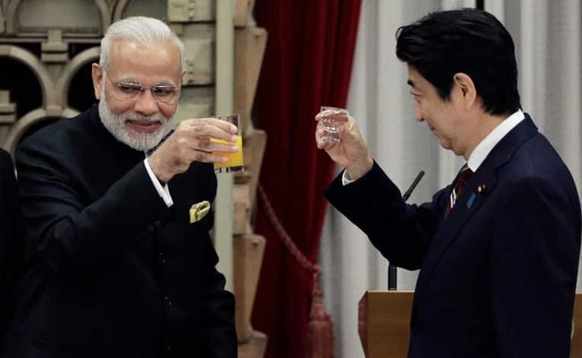 For Shinzo Abe, Gujarati Thali On Terrace With PM Modi's Favourite Dish