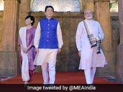 PM Modi, Shinzo Abe Visit Iconic Mosque In Ahmedabad