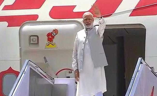 PM Narendra Modi Leaves On A Five-Day Visit To China, Myanmar