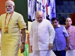 Country First, Party Second Says PM Modi At Huge BJP Meet