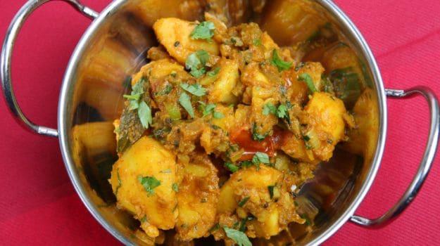 potato bhujia
