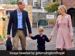 UK's Prince George's First Day At School, Pregnant Mum Kate Too Ill To Go