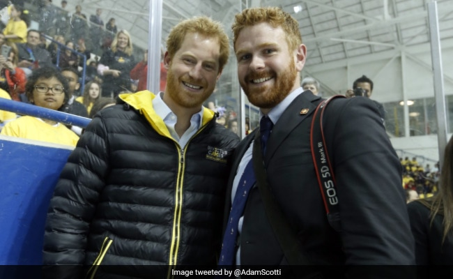Justin Trudeau Thinks His Photographer Is Prince Harry's Doppelganger