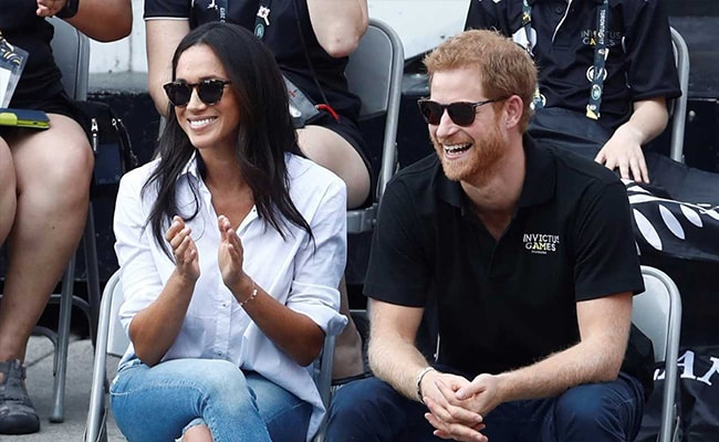 Britain's Prince Harry Makes First Public Appearance With Girlfriend Meghan Markle