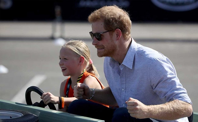 Watch: When A 5-Year-Old Took Prince Harry For A Ride In Her Mini Car