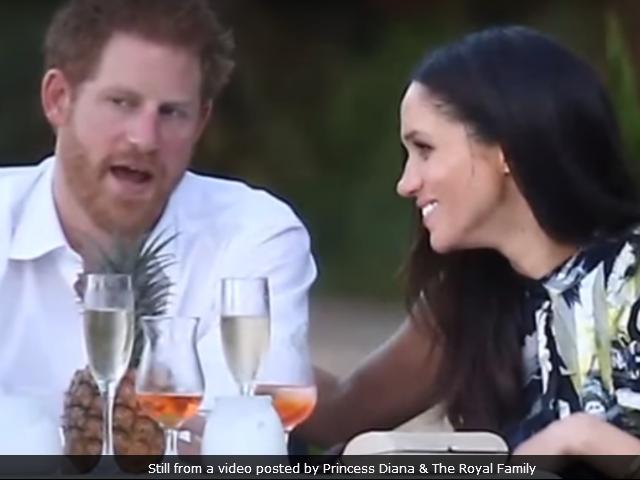 Jab Prince Harry Met Meghan Markle: 'Happy And In Love'